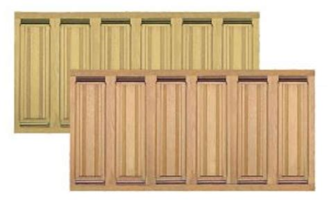 Cedar Wainscoting by Quality Solid Wood Raised Panel Wainscoting Available In