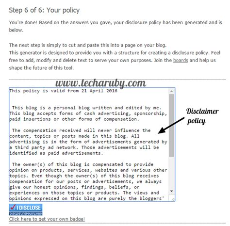 blogger  privacy policy aur disclaimer page kaise banaye