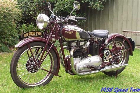 Triumph Speed 1938 by 1938 Triumph Speed 5t Classic Motorcycle Pictures