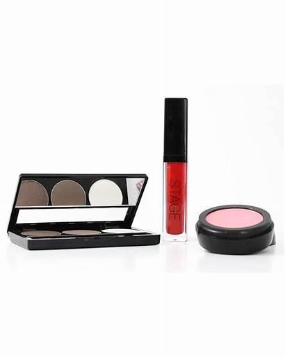 Stage Makeup Kit Smokey Eye Brown Eyeshadow