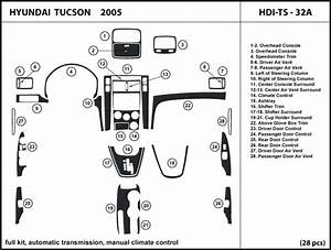Exploded View 2005 Hyundai Tucson Manual Transmission