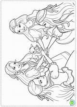 Barbie Coloring Musketeers Three Printable Horse Close Dinokids Princess Castle Pdf Diamond Coloringhome Results sketch template