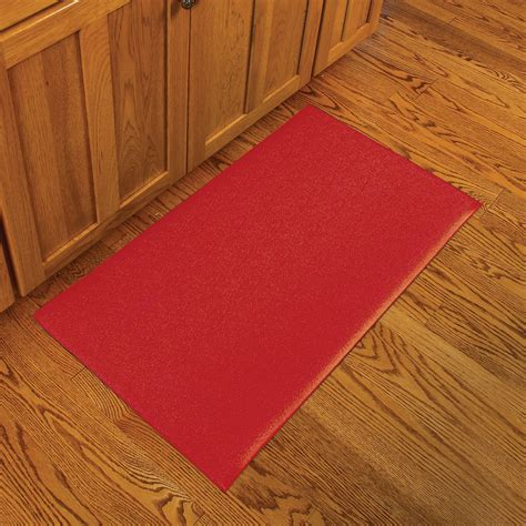kitchen rugs notrax kitchen comfort rug red at hayneedle