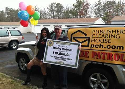 publishers clearing house customer service car interior the prize patrol brings quot more riches quot to moriches ny