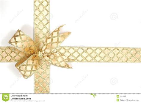11 gold christmas ribbon vector images gold ribbon bow