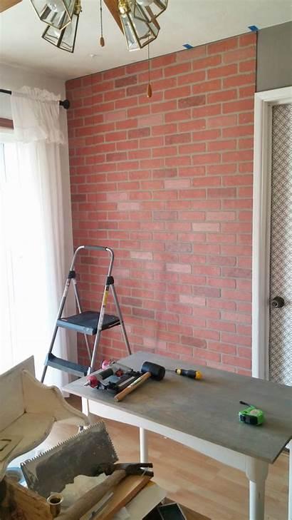 Brick Wall Living Faux Paneling Makeover Seams