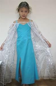 robe de princesse des neiges deguisement fille robes With robe princesse des neiges