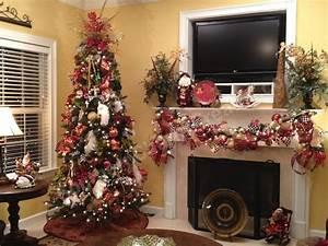 25 Christmas Tree Decorations Ribbon Ideas - MagMent