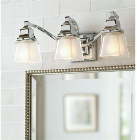chrome bathroom light fixtures 2017 design