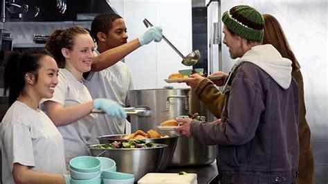 island soup kitchen volunteer ms ds of volunteers serving food at soup