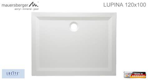 Mauersberger Duschwanne Lupina 120 X 100 Cm Superflach