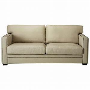 Sofa 4 Sitzer : sofa 3 4 sitzer aus leinen graubeige dandy maisons du monde ~ Eleganceandgraceweddings.com Haus und Dekorationen