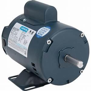 Leeson Electric Motor  U2014 1  2 Hp  1725 Rpm  115  208 U2013230