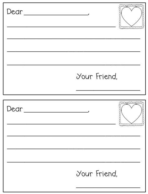 Letter Writing Template Letter Writing Template Freebielicious