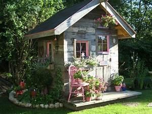 Gartenhaus Shabby Chic : moderne gartenh user 50 vorschl ge f r sie ~ Markanthonyermac.com Haus und Dekorationen