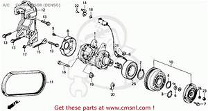 Honda Accord 1989  K  2dr Sei  Ka Kl  A  C Compressor