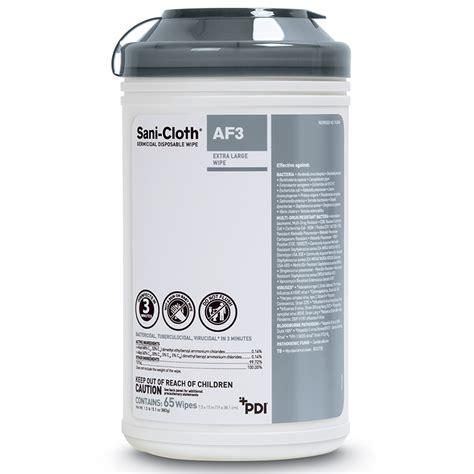 Sani-Cloth® AF3 Germicidal Disposable Wipe - PDI Healthcare