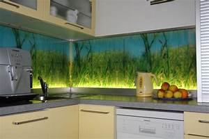 Glasrückwand Küche Beleuchtet : glasr ckw nde k chentr ckw nde der glaserei glasteam m nchen ~ Markanthonyermac.com Haus und Dekorationen