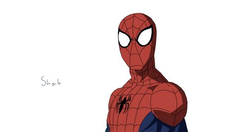 Marvel Ultimate Spiderman Drawing By Xheartbreakerx On