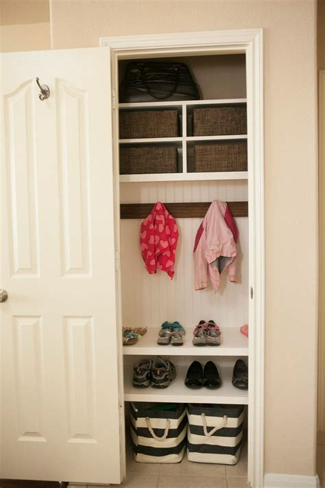 Front Entry Closet Organization Ideas by Coat Closet Finale House Ideas Coat Closet