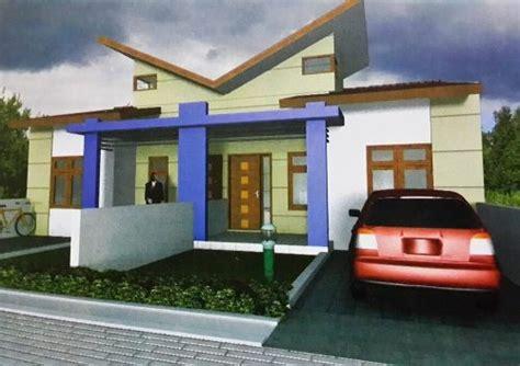 desain rumah type  kopel minimalis modern