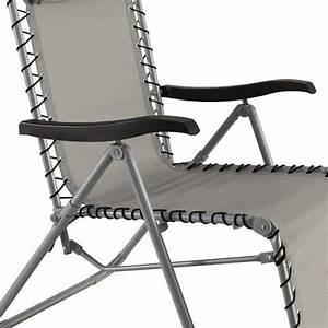 Fauteuil Bain De Soleil : fauteuil d tente silos gris bain de soleil eminza ~ Teatrodelosmanantiales.com Idées de Décoration