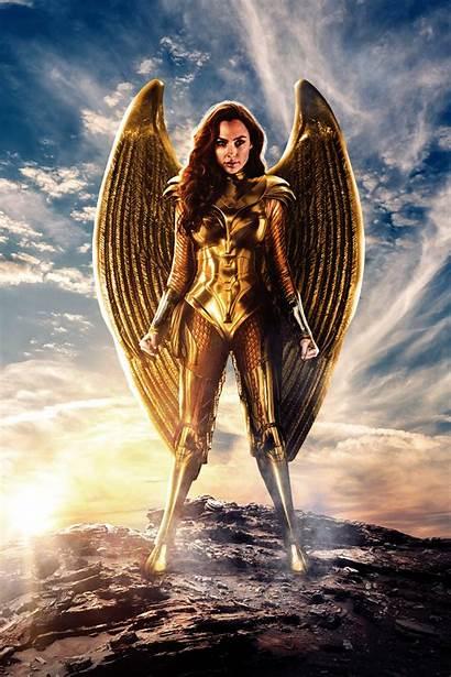 Wonder Woman Golden Armor Eagle 1984 Armour