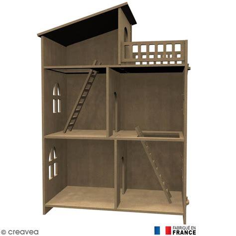 bureau 3 ans kit maison de poupée en bois à décorer meuble miniature