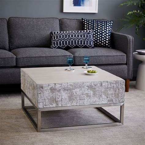 concrete coffee table diy coffee tables ideas inspiring cement coffee table diy