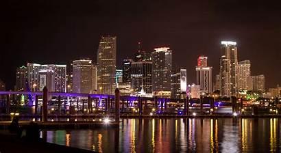 Miami Downtown Cityscape 4k Florida Climate Southeast