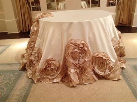 Cake Table Linens » I Do Linens