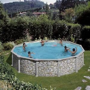 Deco Piscine Hors Sol : piscine hors sol bois b ton 15 photos c t maison ~ Melissatoandfro.com Idées de Décoration