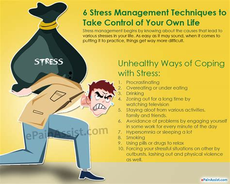 6 Stress Management Techniques To Take Control Of Your Own