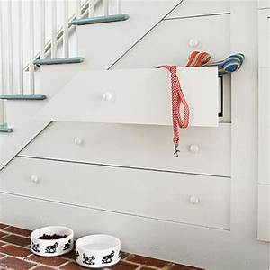 Storage Cabinet Under Stairs Design