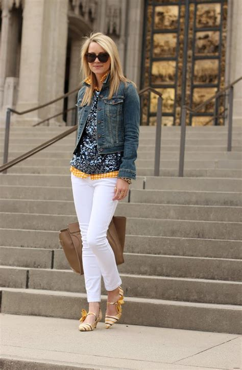 What to Wear With White Jeans u2013 Glam Radar