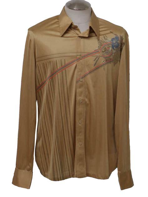 roland  roland kosser  vintage print disco shirt