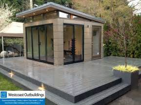 Outdoor Pool Shower Ideas by Prefab Workout Room West Vancouver Modern Shed