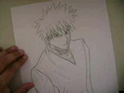 draw animecomo dibujar anime bleach ichigo