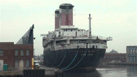 Old Boat In Philadelphia passing huge ships docked in the philadelphia piers youtube