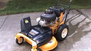 review of the 33 quot cub cadet cc 760 wide area mower