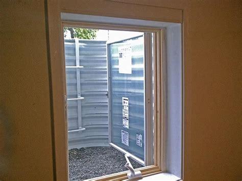 minimum casement window size egress  home plans design