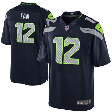 youth seattle seahawks  nike college navy team color