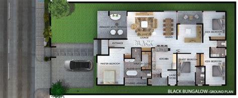 modern house design uganda  black bungalow black