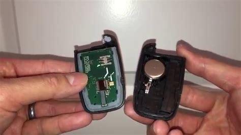 replace battery hyundai kia smart key quick easy youtube