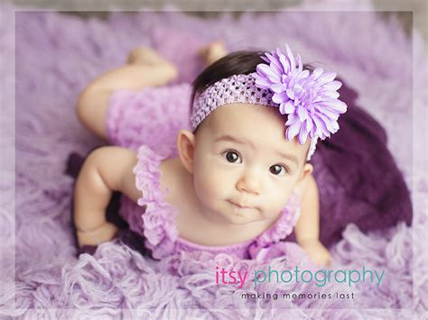 month  baby girl photo posing ideas