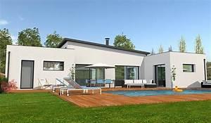 maison contemporaine de plain pied 132 m2 4 chambres With lovely plans de maison gratuit 11 maison de ville avec patio