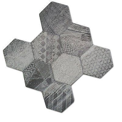 Badezimmer Fliesen Sechseck by Muster Bodenfliesen Hexagon Sechseck Fliesen Hologram