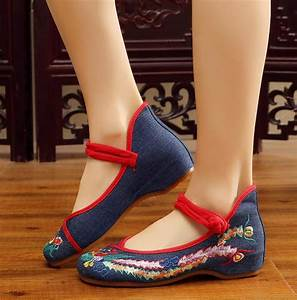 2020 Girl U0026 39 S Casual Vintage Manual Shoes Chinese Style