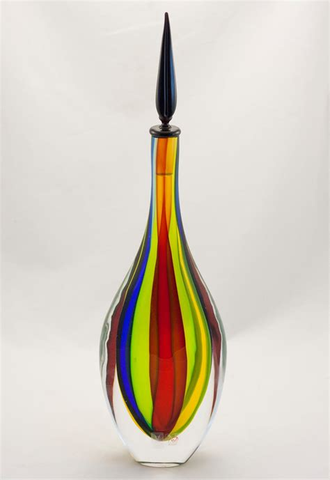 Vasen Len Shop by Color Swirl Murano Gocce Vase Murano Glass Murano