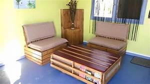 Fabrication Avec Palette : ides pour fabriquer meuble tl avec palettes ~ Preciouscoupons.com Idées de Décoration